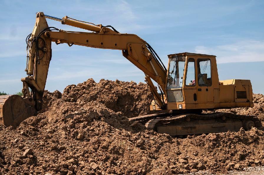 Image of excavator