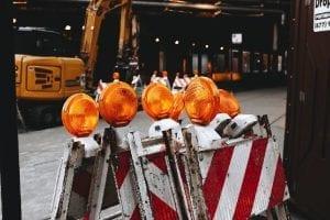 Image of safety barrier for LUEZ segregation